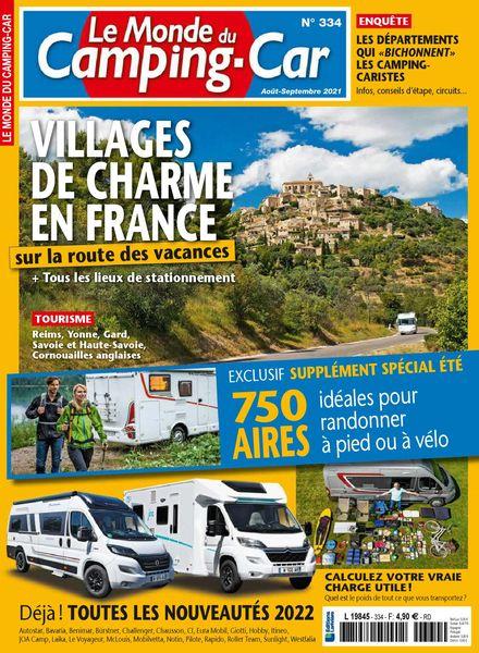 Le Monde du Camping-Car – aout 2021