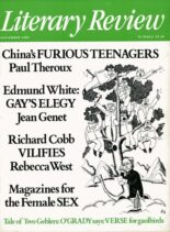 Literary Review – September 1986