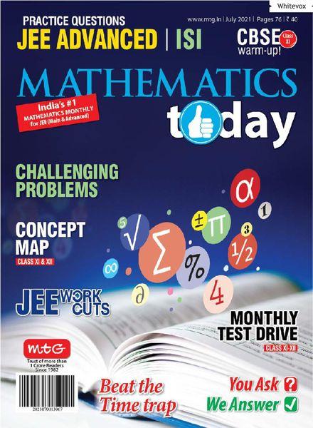 Mathematics Today – July 2021