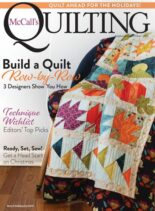 McCall's Quilting – September-October 2021