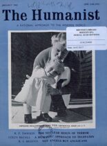 New Humanist – The Humanist, January 1963