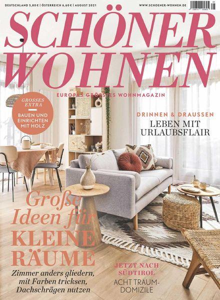 Schoner Wohnen – August 2021