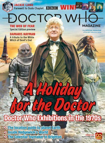 Doctor Who Magazine – Issue 567 – September 2021
