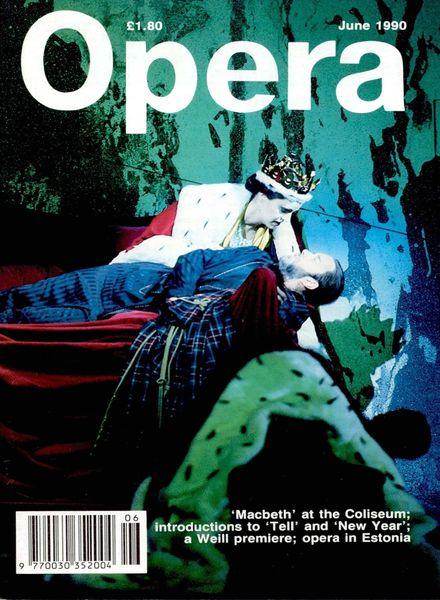 Opera – June 1990