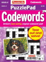 PuzzleLife PuzzlePad Codewords – 15 July 2021