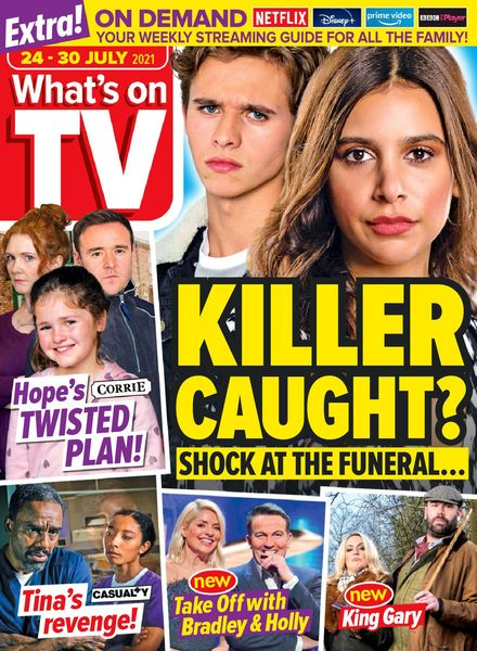 What's on TV – 24 July 2021