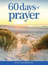 60 Days of Prayer – August 2021