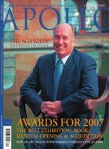 Apollo Magazine – December 2007