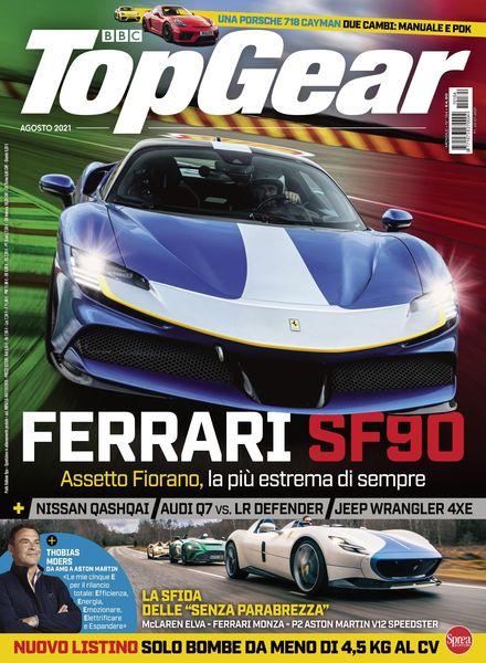 BBC Top Gear Italia – agosto 2021