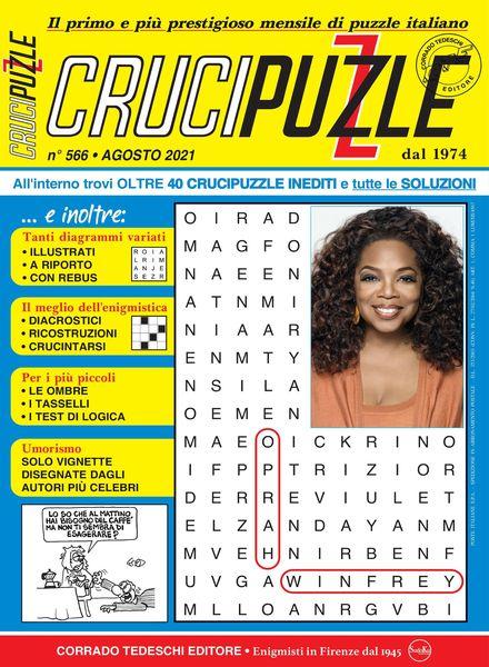 Crucipuzzle – luglio 2021