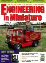 Engineering in Miniature – April 2010