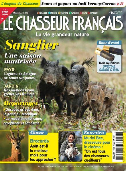Le Chasseur Francais – aout 2021