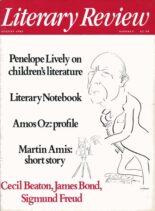Literary Review – August 1985