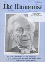 New Humanist – The Humanist, May 1962
