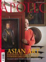 Apollo Magazine – November 2007
