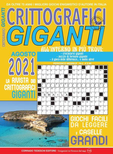 Crittografici Giganti – agosto 2021