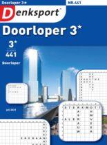 Denksport Doorloper 3 – 15 juli 2021