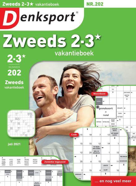 Denksport Zweeds 2-3 vakantieboek – 15 juli 2021
