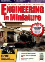 Engineering in Miniature – January 2010