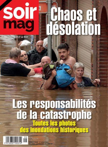 Le Soir Magazine – 26 juillet 2021