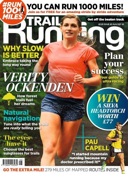 Trail Running – August-September 2021