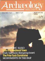 Archaeology Ireland – Autumn 1991