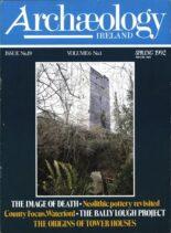 Archaeology Ireland – Spring 1992