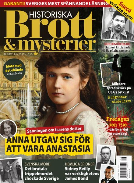 Historiska Brott & Mysterier – juli 2021