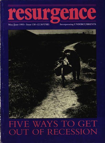 Resurgence & Ecologist – Resurgence, 158 – May-June 1993