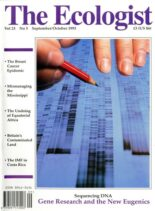 Resurgence & Ecologist – Ecologist, Vol 23 N 5 – Sept-Oct 1993