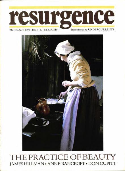 Resurgence & Ecologist – Resurgence, 157 – March-April 1993