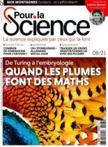 Pour la Science – Aout 2021
