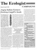 Resurgence & Ecologist – Campaigns Vol 23 N 2 – March-April 1993