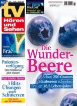 TV Horen und Sehen – 06 August 2021