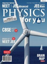 Physics For You – August 2021
