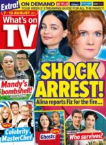 What's on TV – 07 August 2021