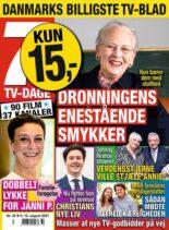 7 TV-Dage – 09 august 2021