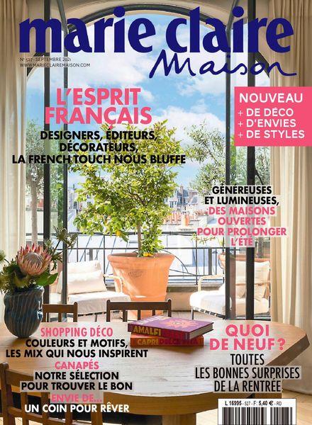 Marie Claire Maison France – septembre 2021