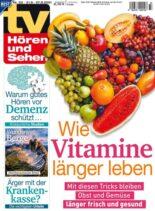 TV Horen und Sehen – 13 August 2021