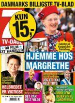 7 TV-Dage – 16 august 2021