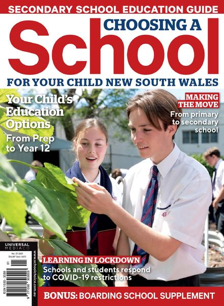 Choosing a School for Your Child NSW – June 2021