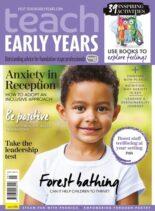 Teach Early Years – August 2021