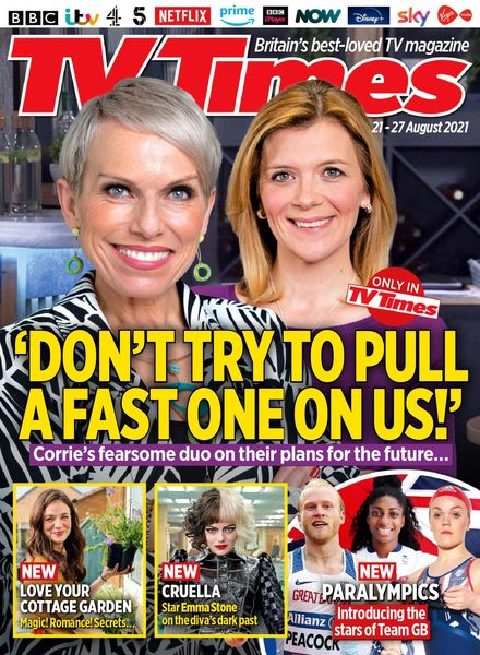 TV Times – 21 August 2021