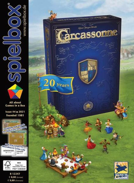 Spielbox English Edition – September 2021