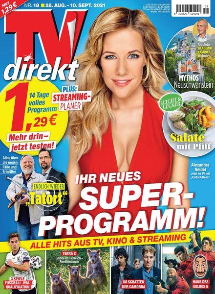 TV DIREKT – 19 August 2021