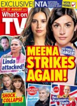What's on TV – 21 August 2021
