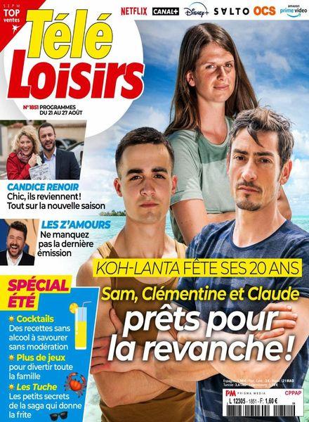 Tele Loisirs – 16 Aout 2021