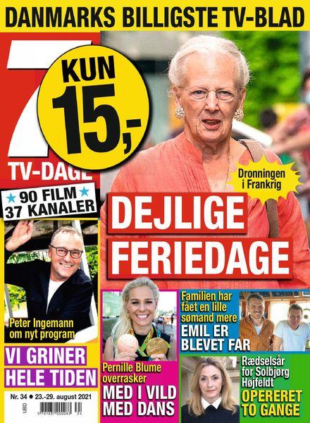 7 TV-Dage – 23 august 2021