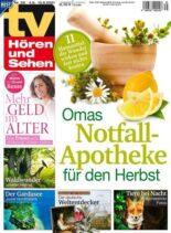 TV Horen und Sehen – 27 August 2021