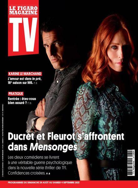 TV Magazine – 29 Aout 2021